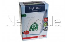 Miele - Vacuum cleaner bag orig s7580 hyclean you 4 pieces - 10123250