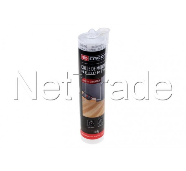 Facom - Neoprene mounting glue - 310 g in cartridge - 84801