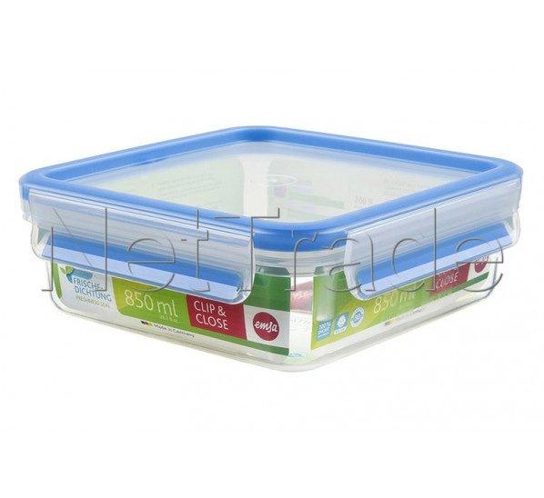 Emsa - Clip & close food storage box square - 0.85l - 508536